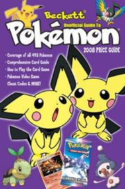 Cover of: Beckett Unofficial Pokemon Price Guide #3 (Beckett Unofficial Guide to Pokemon)