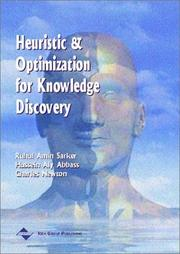 Cover of: Heuristics and optimization for knowledge discovery |