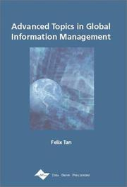 Cover of: Advanced Topics in Global Information Management Series, Vol. 1 (Advanced Topics in Global Information Management Series)