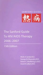 Cover of: The Sanford Guide to HIV/AIDS Therapy 2006-2007 |