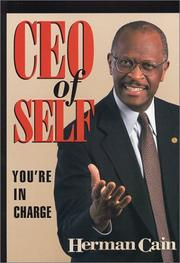 Cover of: CEO of Self