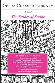 Cover of: The Barber of Seville | Burton D. Fisher