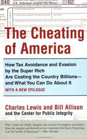 Cover of: The Cheating of America