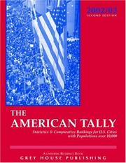 Cover of: The American Tally 2003 | David Garoogian