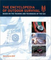 Cover of: The Encyclopedia of Outdoor Survival | Barry Davies