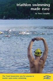 Cover of: Triathlon swimming made easy