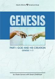 Cover of: Genesis Part I | Gayle Somers