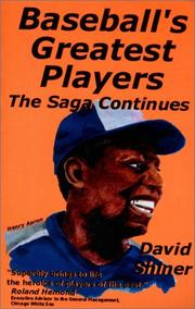 Cover of: Baseball's greatest players