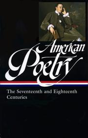 Cover of: American Poetry