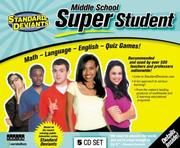 Cover of: Middle School Super Student |