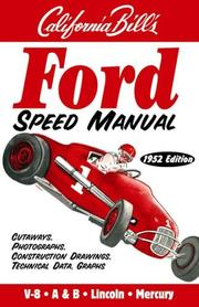 Cover of: Ford Speed Manual
