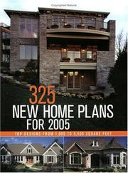 Cover of: 325 New Home Plans for 2005 | Linda Bellamy