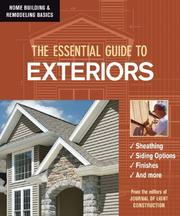 Cover of: The Essential Guide to Exteriors (Home Building & Remodeling Basics) (Home Building & Remodeling Basics) (Home Building & Remodeling Basics)