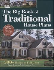 Cover of: Big Book of Traditional House Plans