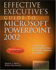 Cover of: Effective executive