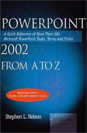 Cover of: Powerpoint 2002 from A to Z