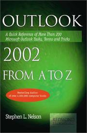 Cover of: Outlook 2002 from A to Z