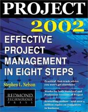 Cover of: Project 2002