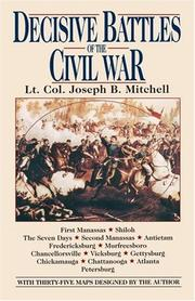 Cover of: Decisive Battles of the Civil War | Joseph Mitchell