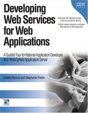 Cover of: Developing Web Services for Web Applications | Colette Burrus