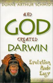 Cover of: And God created Darwin