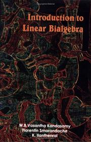 Cover of: Introduction to Linear Bialgebra
