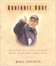 Cover of: Quotable Rudy |