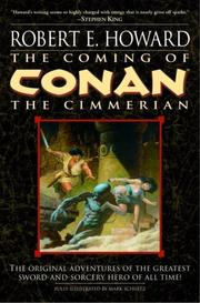 Cover of: The Coming of Conan the Cimmerian