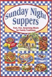 Sunday night suppers