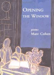 Cover of: Opening the window