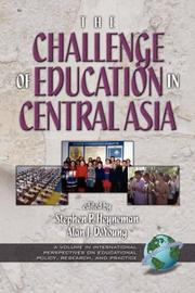 The Challenges of Education in Central Asia (PB) (International Perspectives on Educational Policy)