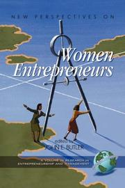 Cover of: New Perspectives on Women Entrepreneurs