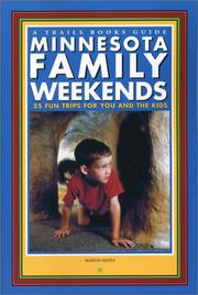 Cover of: Minnesota family weekends | Martin Hintz