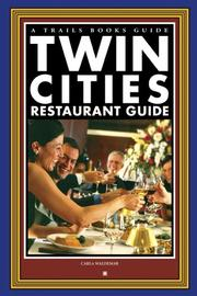 Cover of: Twin Cities Restaurant Guide