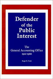 Cover of: Defender of the Public Interest | Roger R. Trask