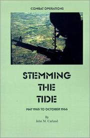 Cover of: Stemming the Tide (United States Army in Vietnam)