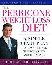 Cover of: The Perricone Weight-Loss Diet | Nicholas Md Perricone