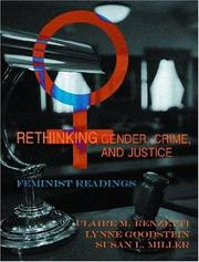 Cover of: Rethinking Gender, Crime, And Justice |