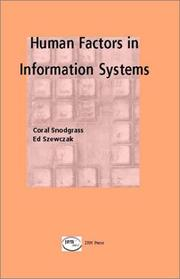 Cover of: Human Factors in Information Systems | Edward Szewczak