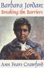 Cover of: Barbara Jordan
