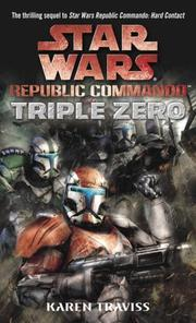 Cover of: Triple Zero (Star Wars: Republic Commando)