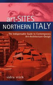 Cover of: Art-Sites Northern Italy