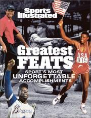 Cover of: Sports Illustrated: Greatest Feats | Editors of Sports Illustrated