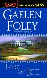 Cover of: Lord of Ice | Gaelen Foley