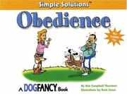 Cover of: Obedience | Kim Thornton