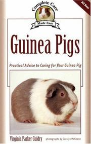 Cover of: Guinea Pigs