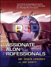 Cover of: Passionate Salon Professionals (Psp) | Lewis, Dr. Losoncy