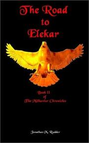 Cover of: The Road to Elekar