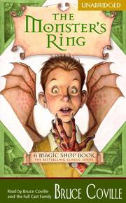 Cover of: The Monster's Ring (Magic Shop)