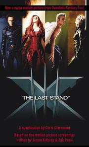 Cover of: X-Men - The Last Stand